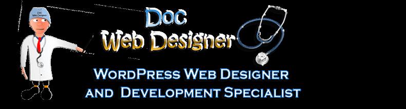 Doc Web Designer Logo